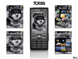 Wolf theme - K800 by KGY-Graphic
