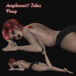 Angelmoon17 Tube Pinup by AngelMoon17