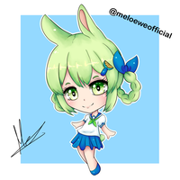 Lemoni (fanart of an Ibu-chan's OC) by Meloewe