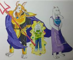 Goat Family by ShadowDragon6114