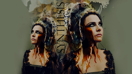 Evanescence Bring Me To Life Synthesis Wallpaper 2 by lovelyamyweb