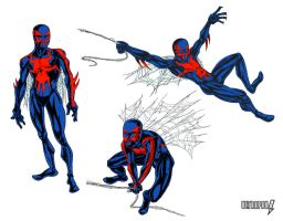 Spider-Man 2099 1 by ultrapaul