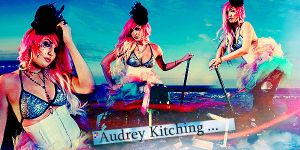 Audrey Kitching. by sharingan-on
