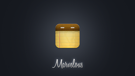 Marvelous Notes icon by JackieTran