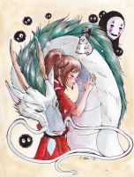 Spirited Away by Android-Bones