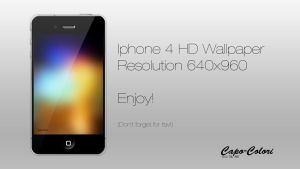 Iphone 4 HD by Capo-Colori