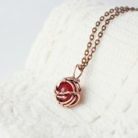 Simple necklace by WhiteSquaw