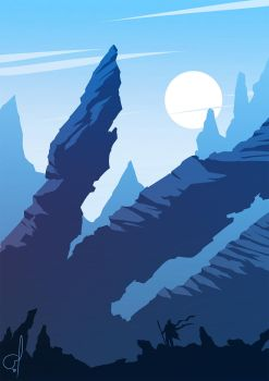 Blue Mountains by OGARart