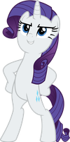 MLP Vector - Rarity #5 by jhayarr23