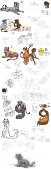 Sketchdump of 2013 Part 5 by timba