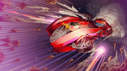 Hyperdrive Massacre promo Wallpaper- red by Fenrir--the-2nd