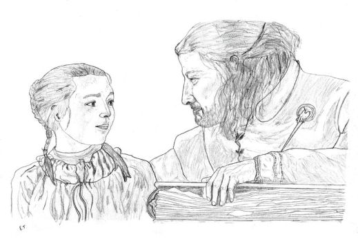 Father and daughter Stark by Dodie59