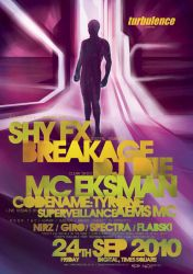 shy fx+breakage poster by c0p
