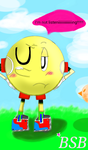 Pacman Is Annoyed Today by BombStarBlast
