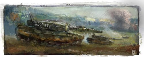 Leopard 2a4 Tanks -Flashpoint Germany 1989 by Mitchellnolte