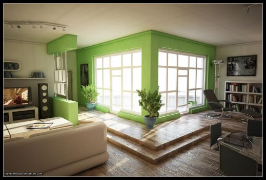 Max and Vray Test 1 by IgnisFerroque