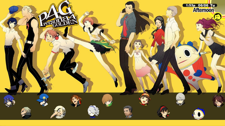 Persona Heads - A P4G Rainmeter Soundboard (WIP) by thesquidaddict