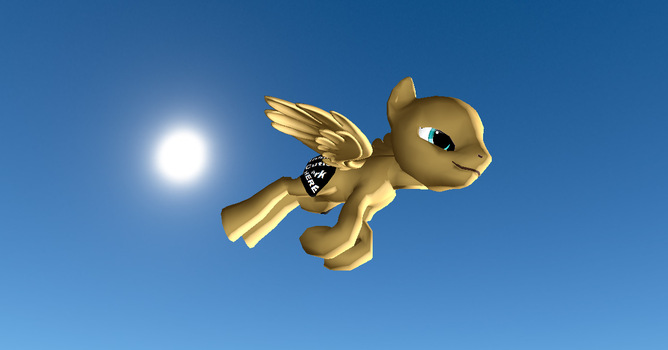 MMD HQ Male Pegusus Pony Base + DL by Valforwing