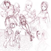 Sketch Compilation 5 by minties