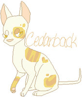 Cedarback (Fan Oc) by TropicaIDeer