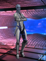 Liara Default Clothes (XPS) by Grummel83