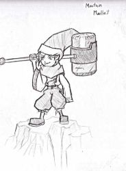 Mountain Mallet by Gx3RComics