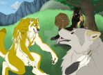 Goldie, Timber, and Fenrir