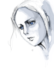 Blue eyes by Tsunami11