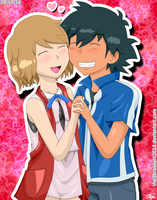 AmourShipping 4ever by The3Brawlers2014