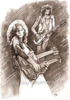 Jimmy Page by Alleycatsgarden