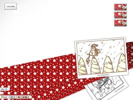 wallpaper miiks december by dheny