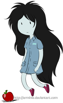 Mini Marceline Fan Art by arminis