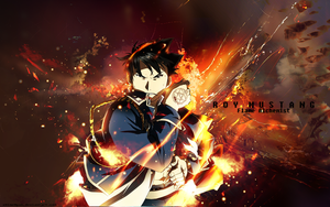 Roy Mustang Wallpaper by xHimeNyan