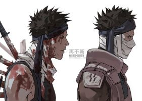 NARUTO- Zabuza by fisher903