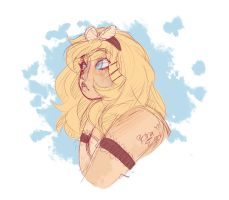 Chiara doodle by Drawing-Heart