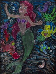 The Little Mermaid by ghettoflower
