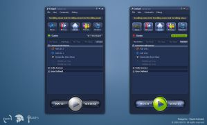 Crosus Interface by pixelbudah