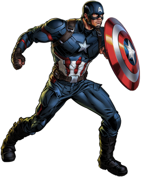 Captain America puzzlequest by cptcommunist