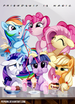 Friendship is magic - Bronycon 2015 by pepooni