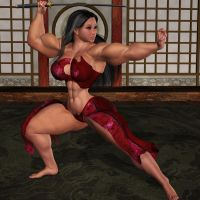 Lin in the Dojo by brD-Drb by vince3