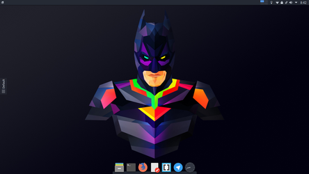 The Dark Knight Desktop by krushndayshmookh