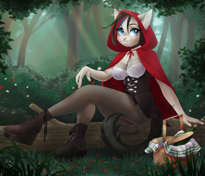 Red Riding Hood [Chikachi] by Dannyckoo