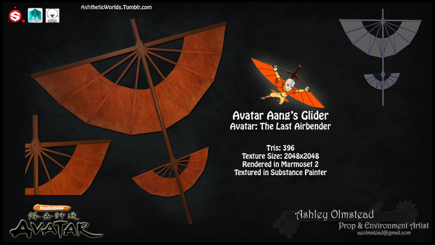 Aang's Glider by Saph3ron