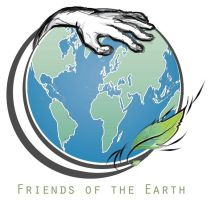 Friends of the Earth Logo by tattoo-parlour
