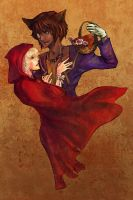 Wolfe and Winifred by Swii