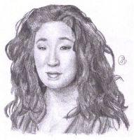 Cristina Yang by Art-For-Our-Hearts