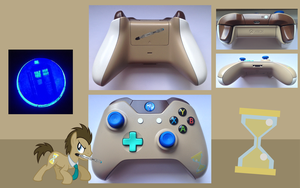 Dr. Whooves Custom XBOX ONE Controller by CARDI-ology