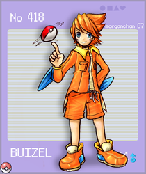 Buizel - for Pokedex by morganchan
