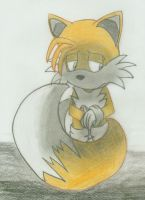 Tails sad by StarScout-lost