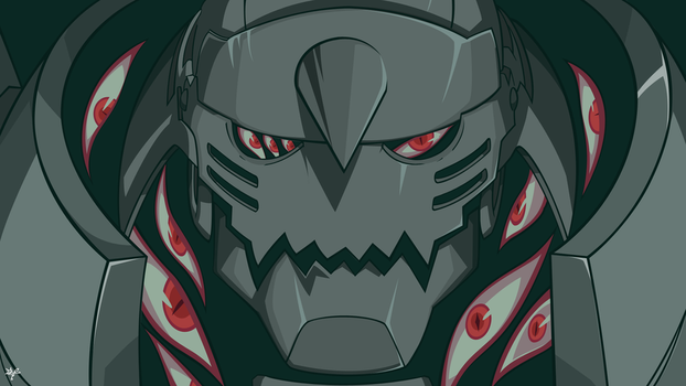 Alphonse Elric and Pride(Full Metal Alchemist) by xryns01